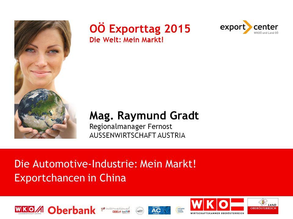 Die Automotive-Industrie: Mein Markt.