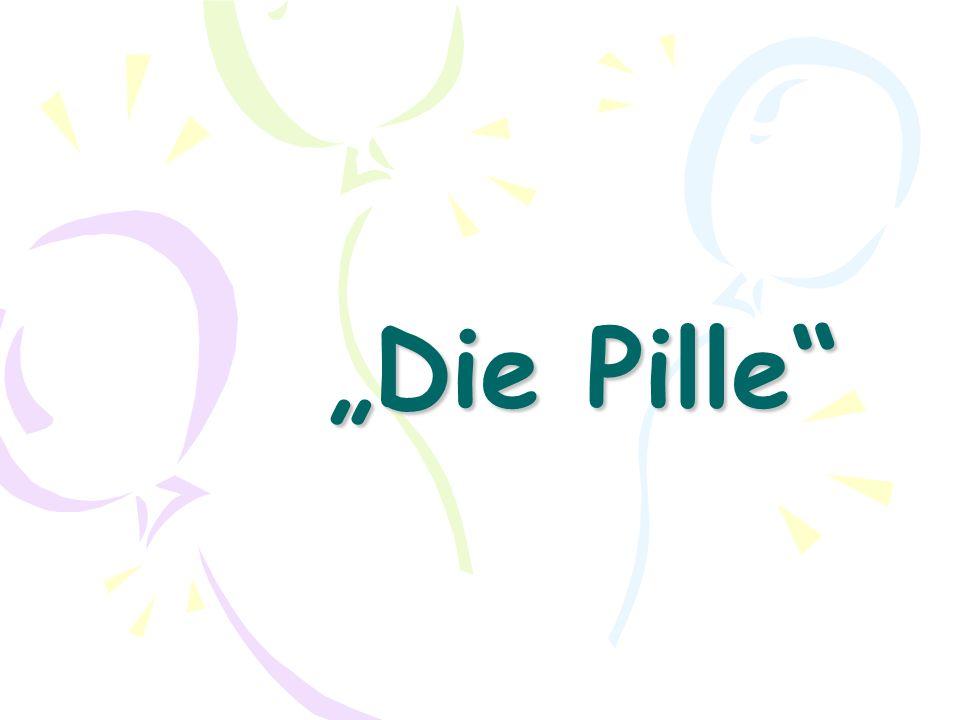 3-fach Wirkung der Pille (1) Es findet kein Eisprung statt.