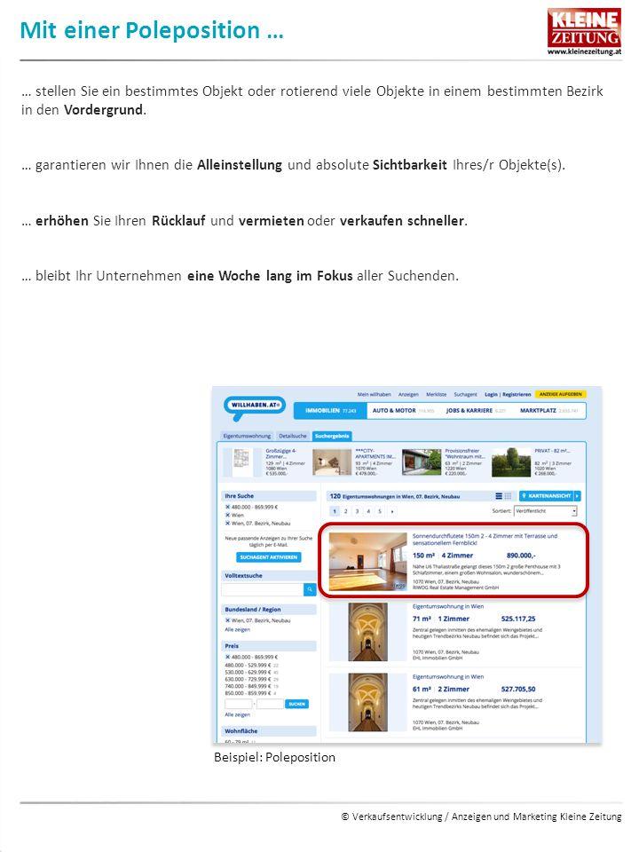 © Verkaufsentwicklung / Anzeigen und Marketing Kleine Zeitung Mit der Internationalen Option … … bieten wir Ihnen ein Top-Produkt zu einem günstigen Fixpreis an.