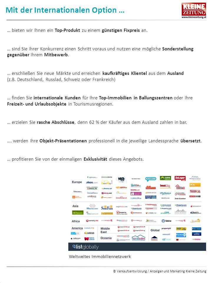 © Verkaufsentwicklung / Anzeigen und Marketing Kleine Zeitung Durch die Kategorie Baumeister/Fertigteilhaus … … bekommt Ihr Angebot einen exklusiven Auftritt in einem eigenen Bereich (10 Haustypen bzw.