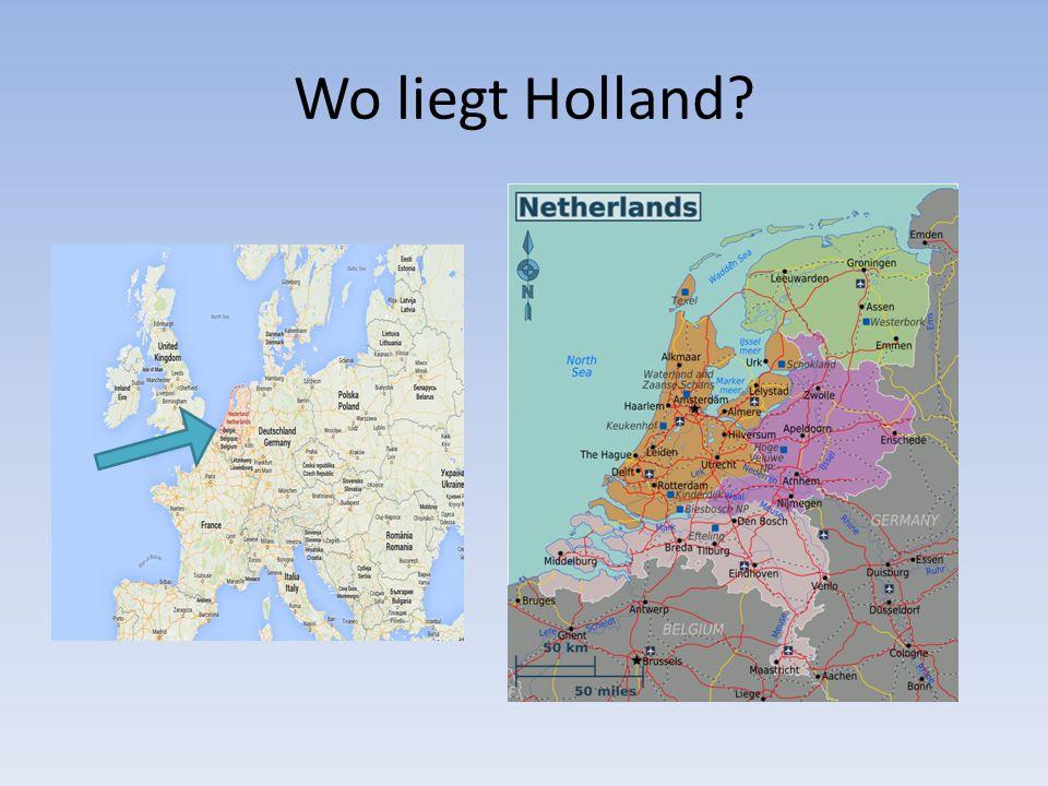 Wo liegt Holland?