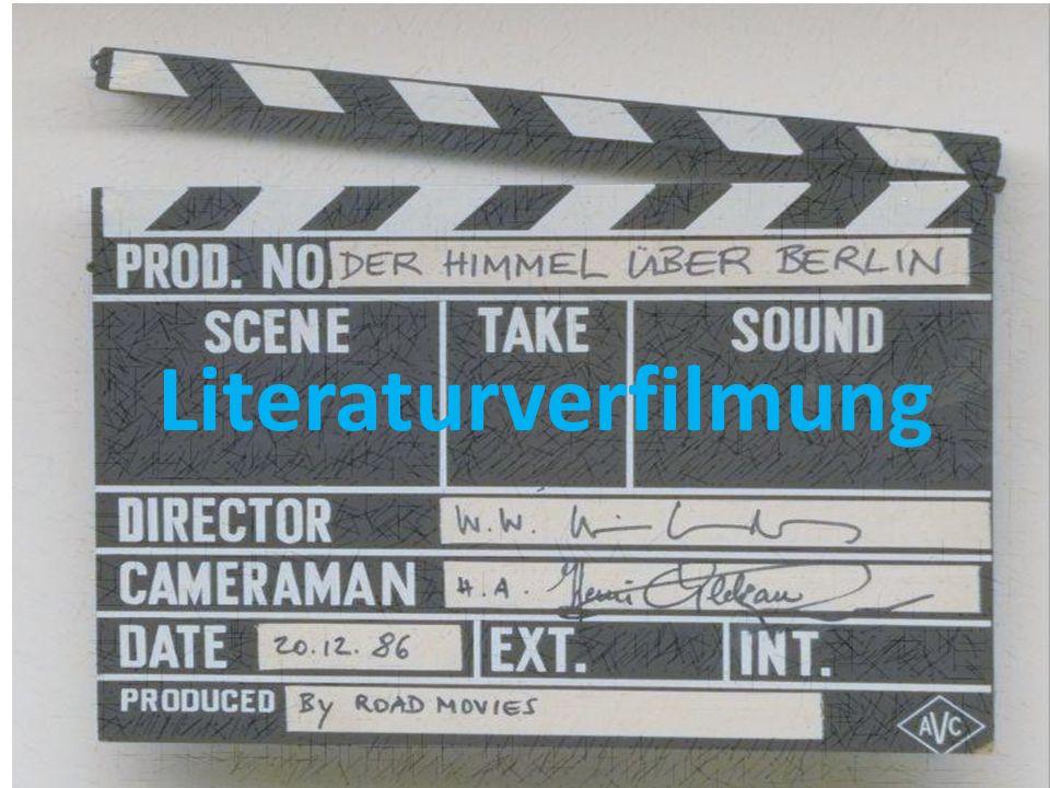 INHALT: Buch – Film - Vergleich Selten wird ein literarisches Werk eins zu eins umgesetzt.