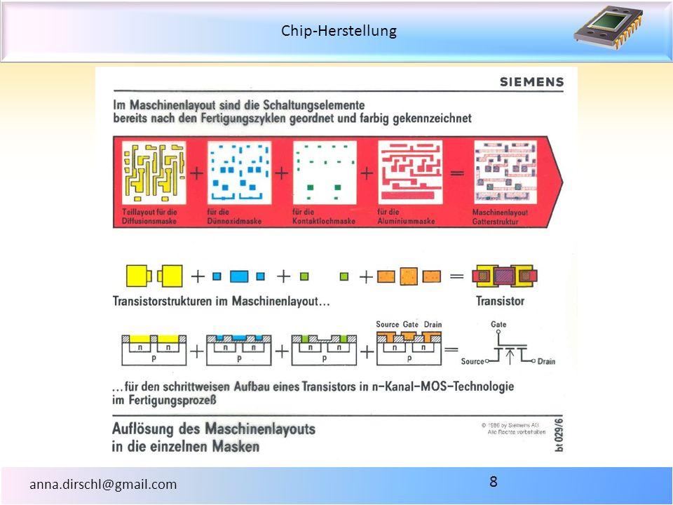 Chip-Herstellung anna.dirschl@gmail.com 8