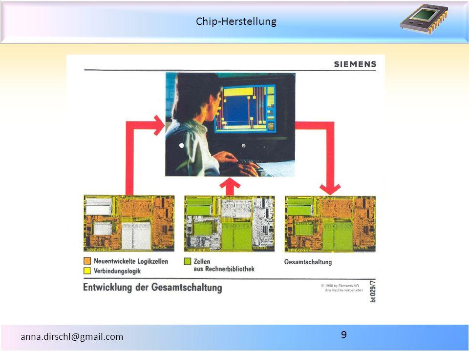 Chip-Herstellung anna.dirschl@gmail.com 9