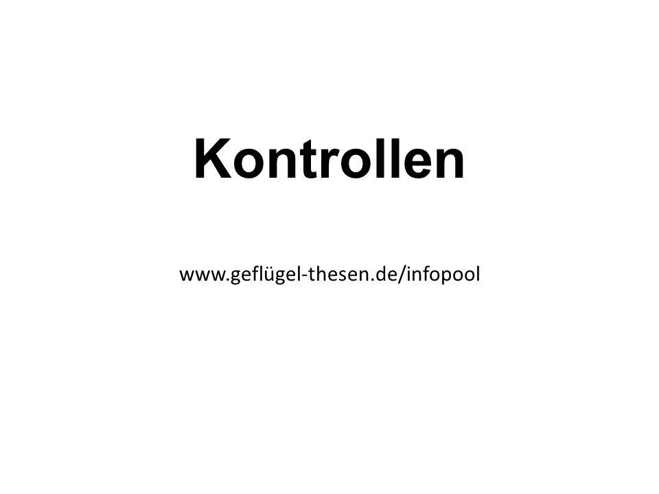 Kontrollen www.geflügel-thesen.de/infopool