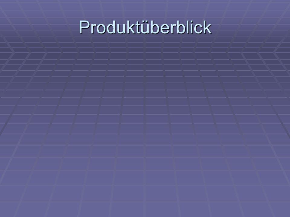 Produktüberblick