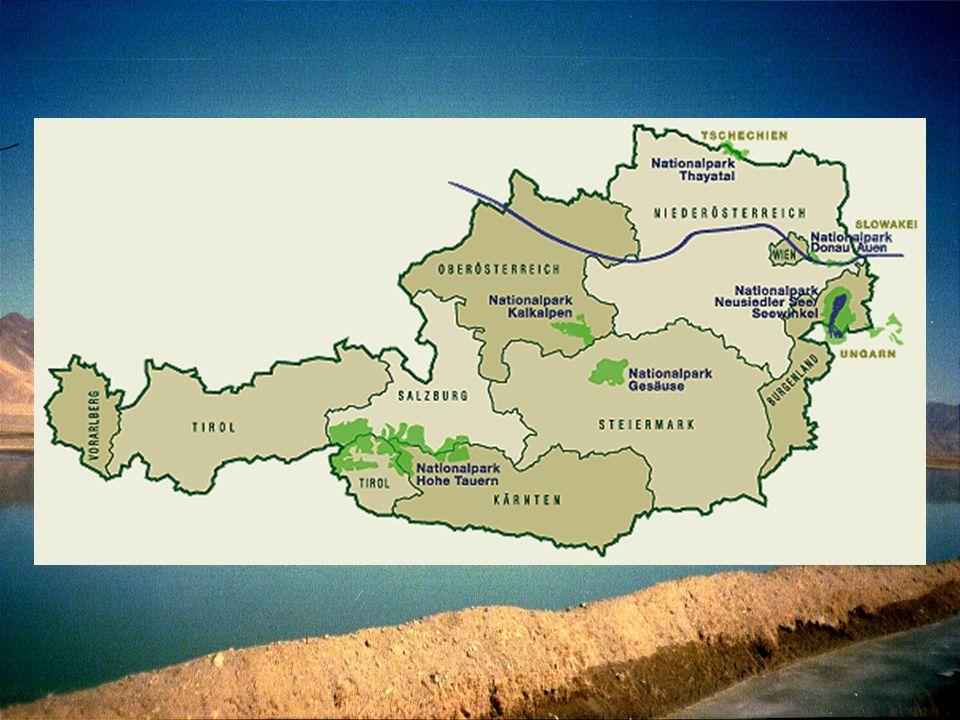Nationalpark Hohe Tauern seit 1971 ältester und mit rund 1836 km² der größte Nationalpark Mitteleuropas Gebiet: Anteile von Salzburg, Kärnten und Osttirol
