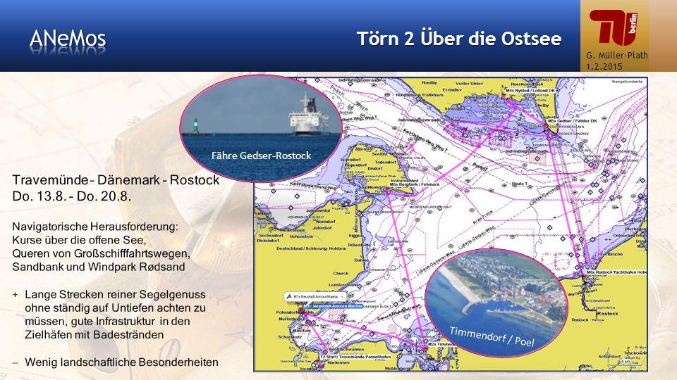 Törn 2 Über die Ostsee Timmendorf / Poel Fähre Gedser-Rostock G. Müller-Plath 1.2.2015