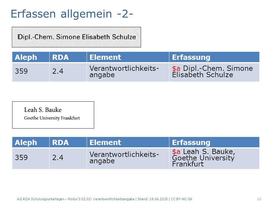 AlephRDAElementErfassung 3592.4 Verantwortlichkeits- angabe $a Dipl.-Chem.