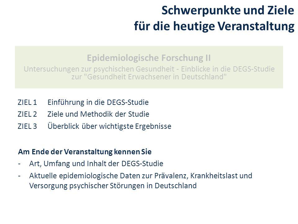 Erhebungsstrategisches Vorgehen Einrichtungen (Liste) Welche.