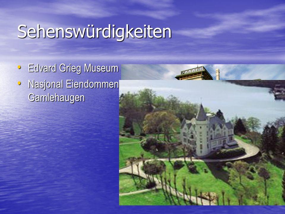 Sehenswürdigkeiten Edvard Grieg Museum Edvard Grieg Museum Nasjonal Eiendommen Gamlehaugen Nasjonal Eiendommen Gamlehaugen