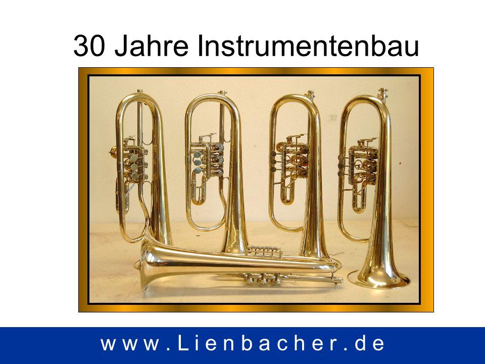 30 Jahre Instrumentenbau w w w. L i e n b a c h e r. d e