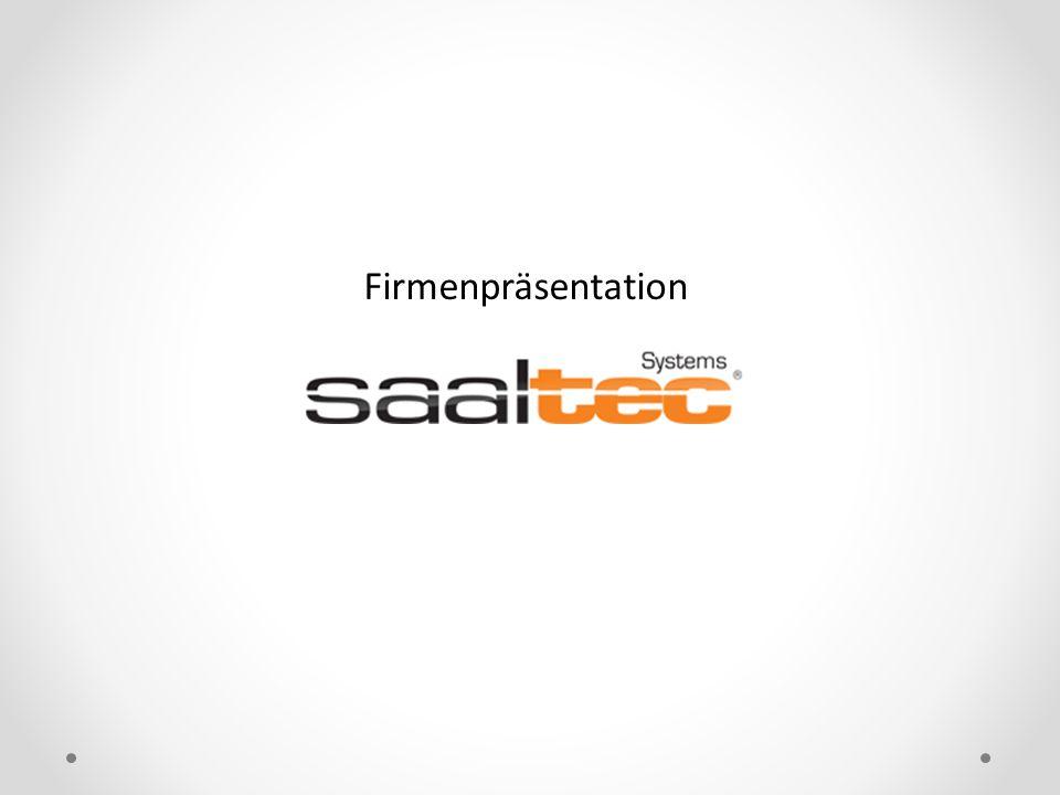 Sehr geehrte Damen und Herren, erlauben Sie uns bitte, Ihnen die Firma Saaltec Systems auf diesem Wege vorzustellen.