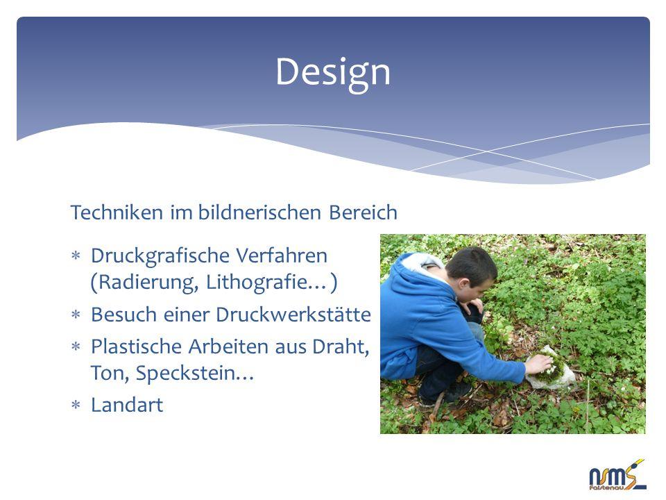 Hier einige Beispiele von Arbeiten aus BES Design