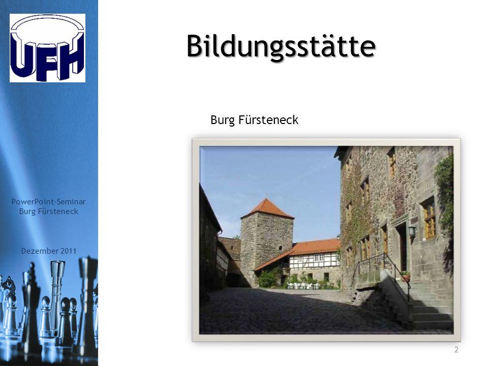PowerPoint-Seminar UnternehmerFrauen im Handwerk Arbeitskreis Fulda e.V.