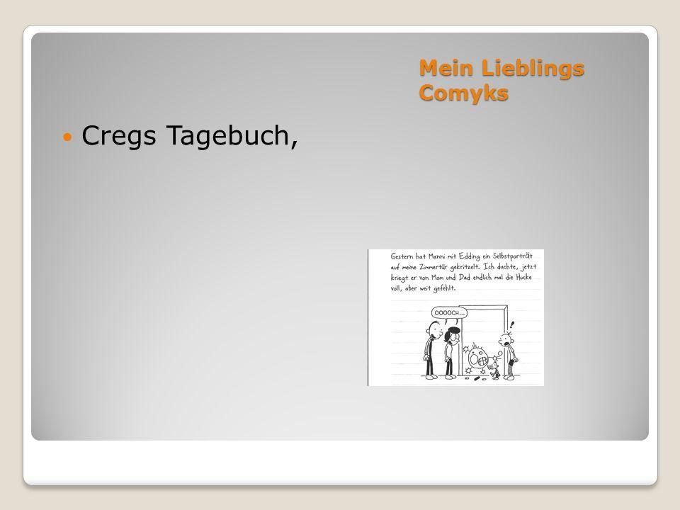Mein Lieblings Comyks Cregs Tagebuch,