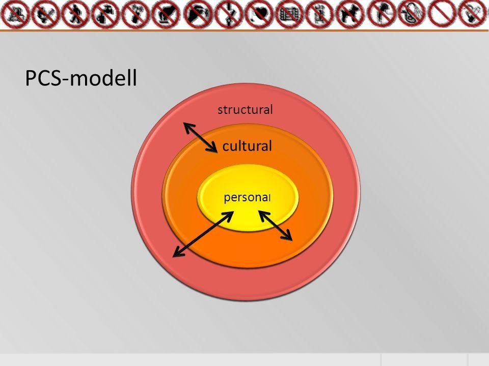 PCS-modell structural cultural persona l