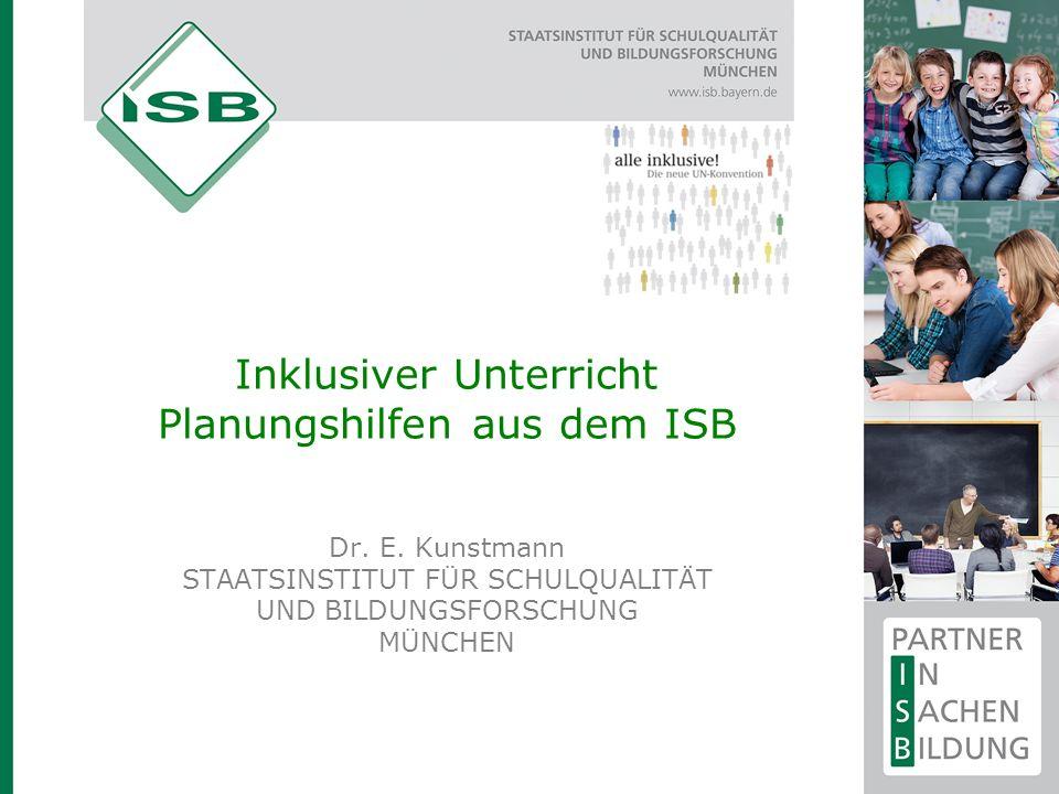 Inklusiver Unterricht: Planungshilfen  Ergänzende Informationen zu allen Förderschwerpunkten  Verortung im LehrplanPLUS Verortung im LehrplanPLUS Deutsch.