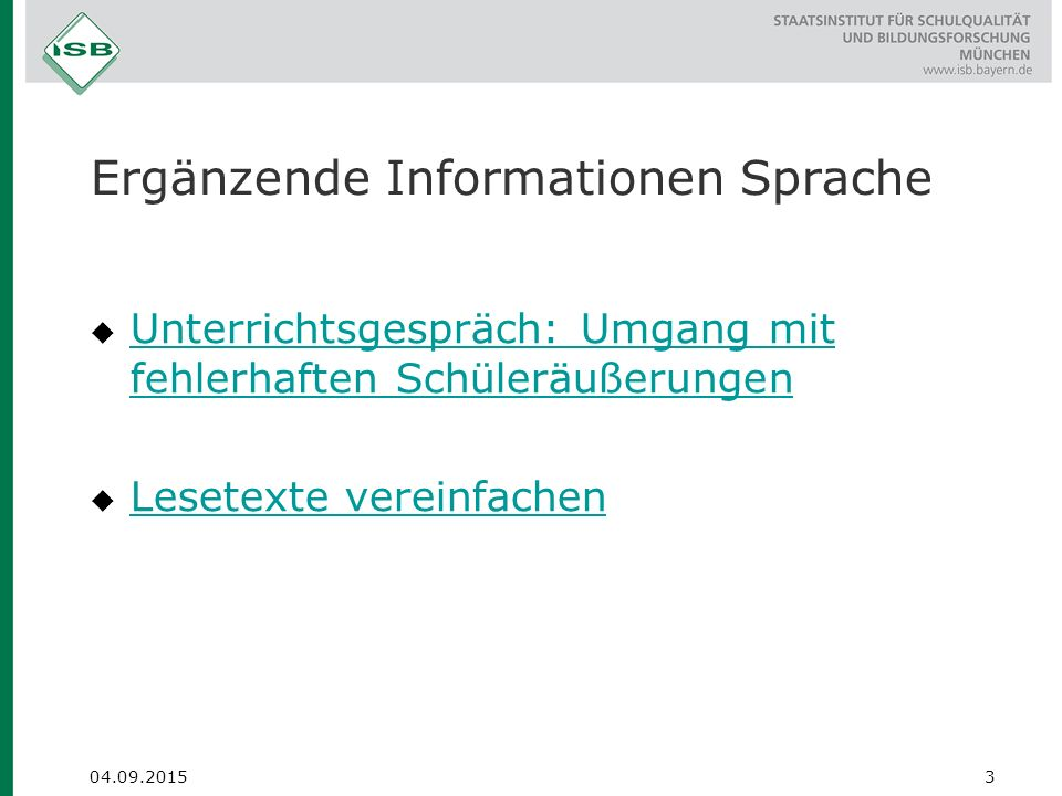 Ergänzende Informationen emotionale-soziale Entwicklung  Wertschätzende Rückmeldung Wertschätzende Rückmeldung Deutsch: Zu anderen sprechen Jg.