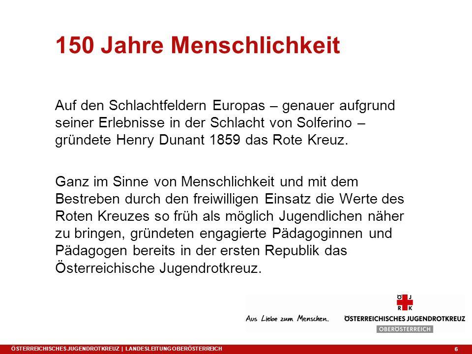 6 Auf den Schlachtfeldern Europas – genauer aufgrund seiner Erlebnisse in der Schlacht von Solferino – gründete Henry Dunant 1859 das Rote Kreuz. Ganz