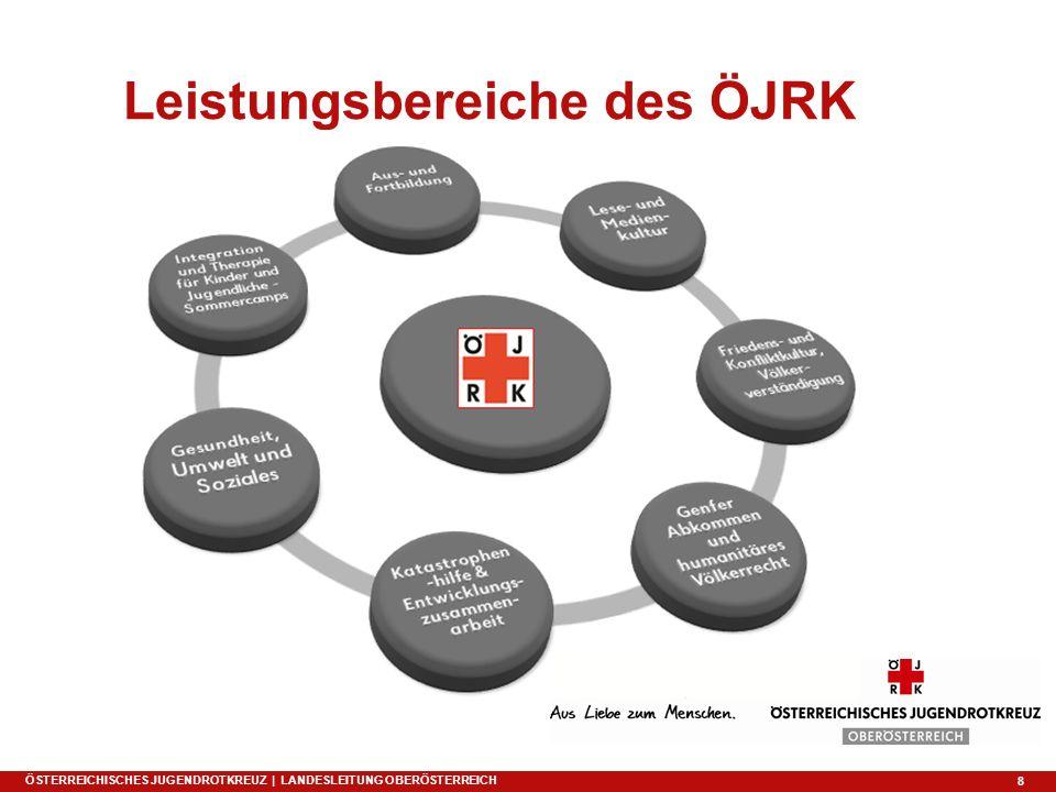 8 Leistungsbereiche des ÖJRK