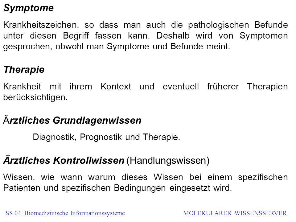 Symptome Krankheitszeichen, so dass man auch die pathologischen Befunde unter diesen Begriff fassen kann. Deshalb wird von Symptomen gesprochen, obwoh