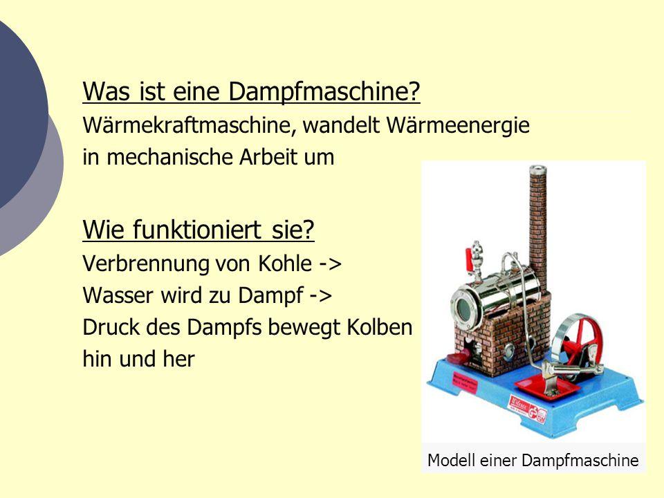 Animation einer doppelt wirkenden Dampfmaschine: Frischdampf Abdampf Zylinder Kolbenstange Kreuzkopf Schwungrad Kurbelwelle