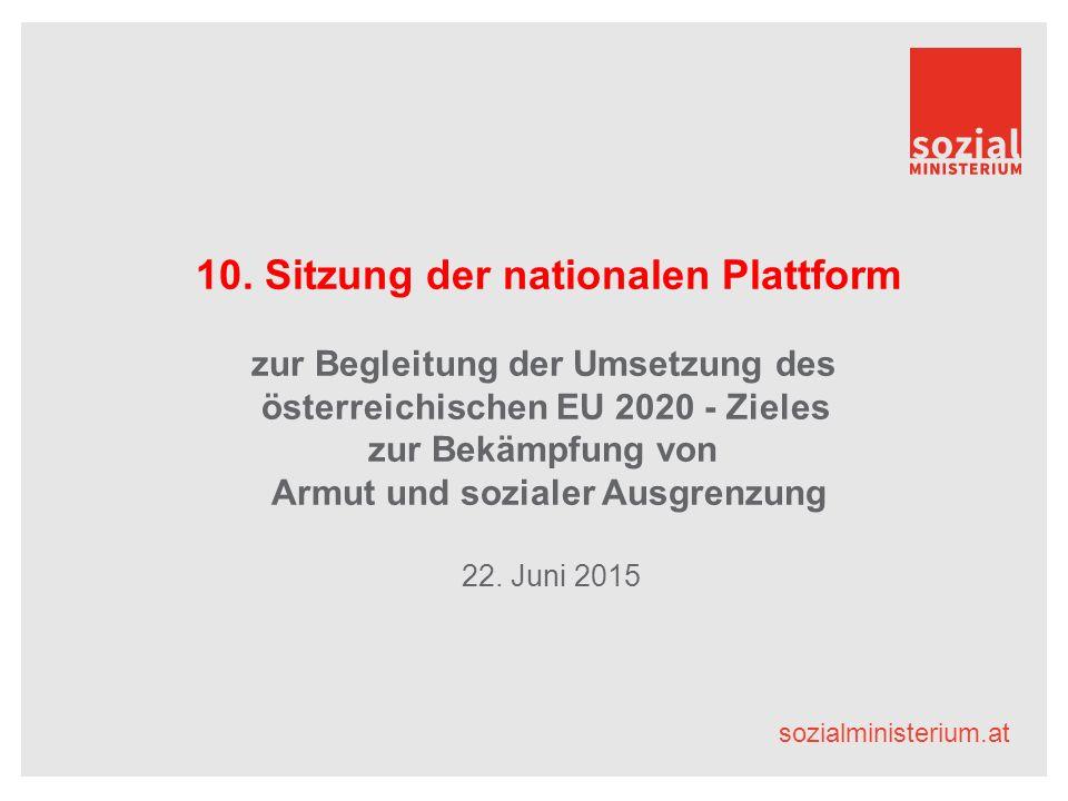 sozialministerium.at Begrüßung Aktuelle Informationen Mag. a Edeltraud Glettler, Sektionschefin