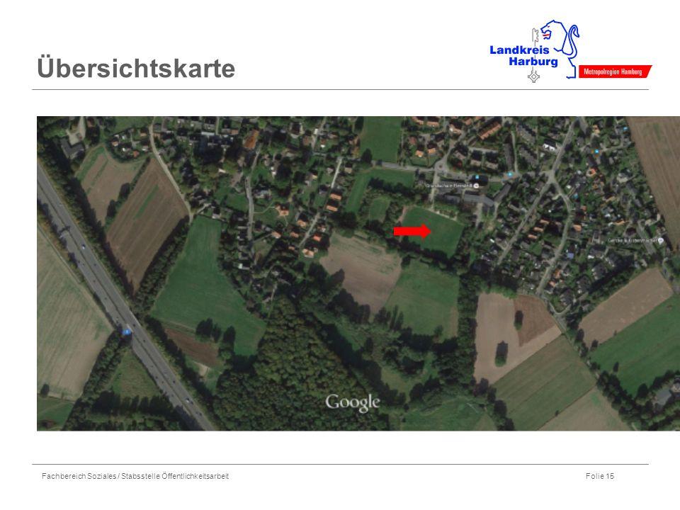 Fachbereich Soziales / Stabsstelle Öffentlichkeitsarbeit Folie 15 Übersichtskarte