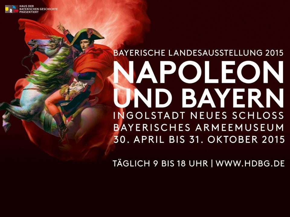 Die territoriale Entwicklung Bayerns vom Ausbruch der französischen Revolution bis heute Die napoleonische Epoche hat Spuren hinterlassen, die auch heute noch im Freistaat Bayern zu erkennen sind.