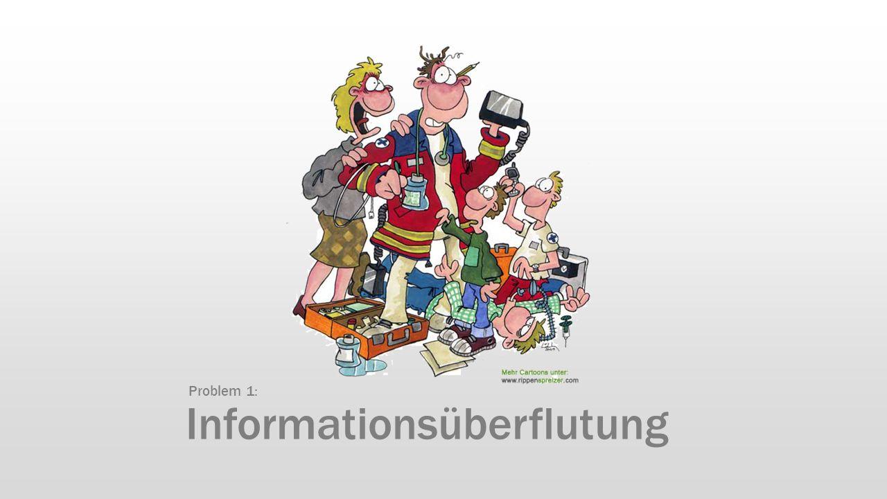 Informationsüberflutung Problem 1: