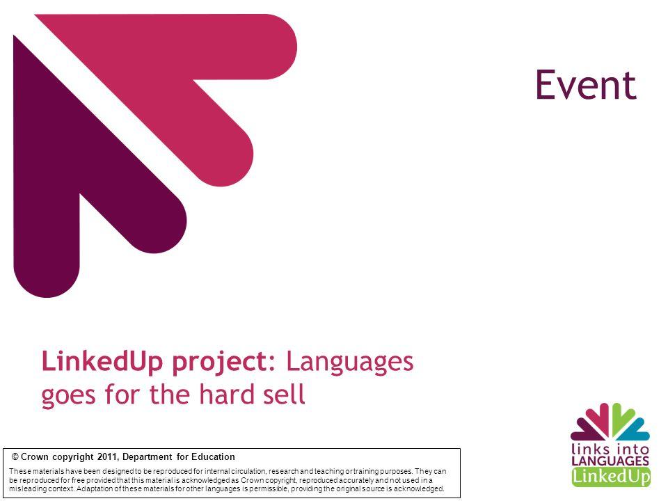 Werbung machen / faire de la publicité Song or drama sketch Between 3 & 5 minutes Focus on delivery Focus on creativity Help with preparation Materials on hand