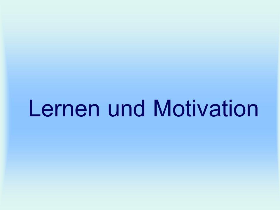 Lernen und Motivation
