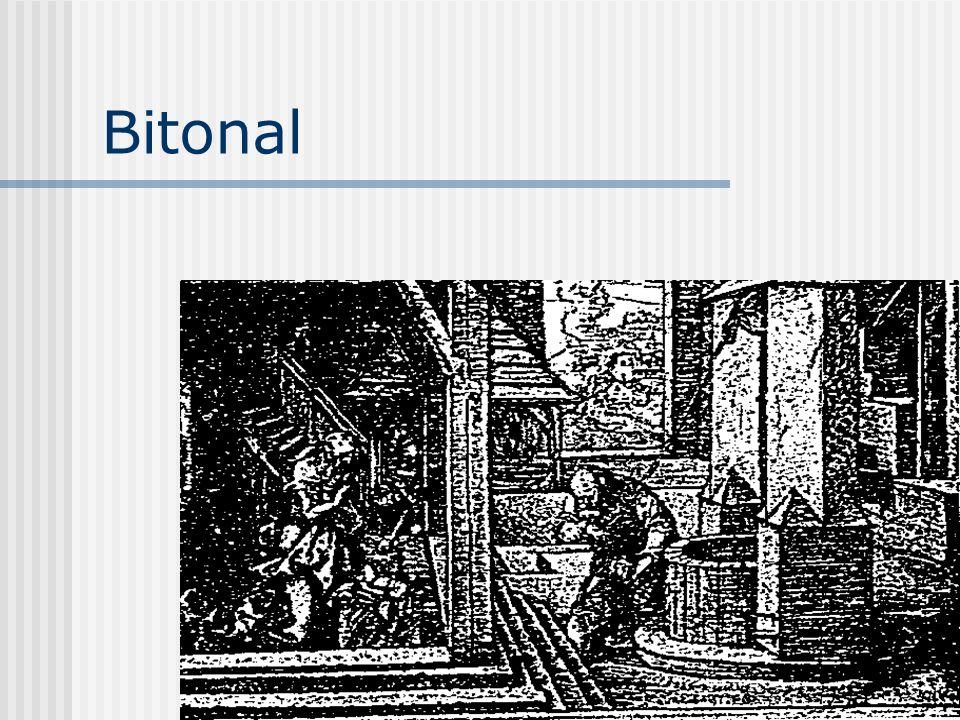Bitonal