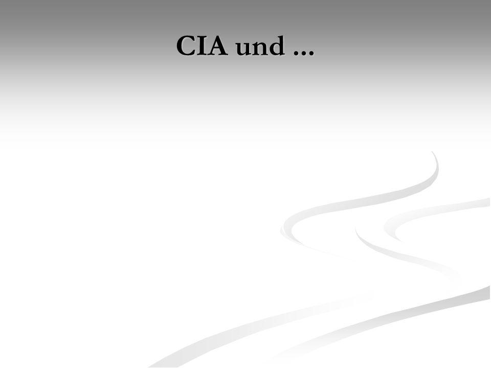 CIA und...