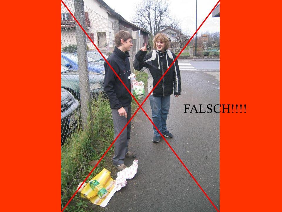 FALSCH!!!!
