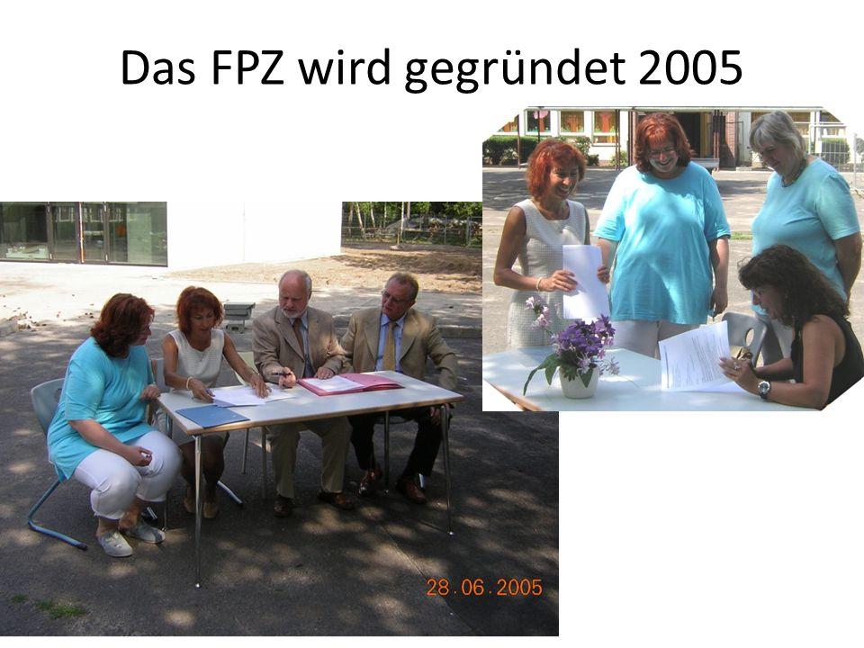 Das FPZ wird gegründet 2005