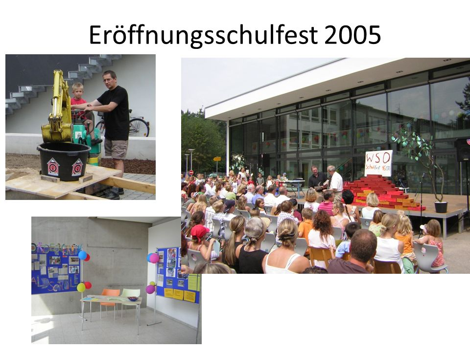 Das FPZ vor 9 Jahren (2006) Zum Schuljahresbeginn wurden 95 Kinder der ersten bis vierten Klasse aufgenommen Täglich werden circa 70 Mittagessen zubereitet