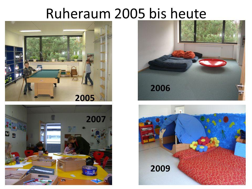 Ruheraum 2005 bis heute 2005 2006 2007 2009