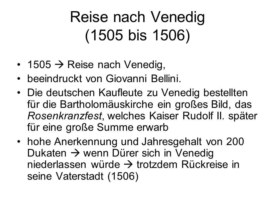 Verbindung zu Kaiser Maximilian I.Mehrfach im Auftrag des Kaisers Maximilian I.