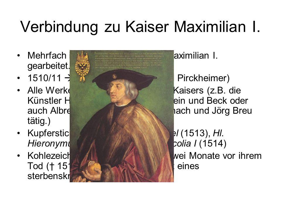 Reise in die Niederlande (1520– 1521) 12.