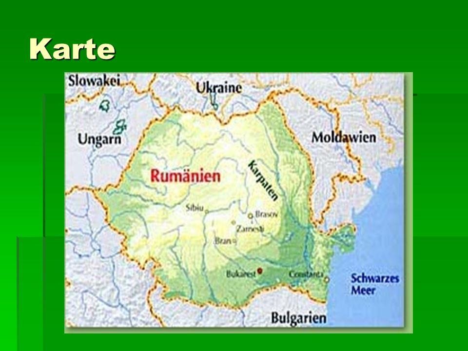 Lage  Rumänien reicht von der Pannonischen Tiefebene bis zum Schwarzen Meer.