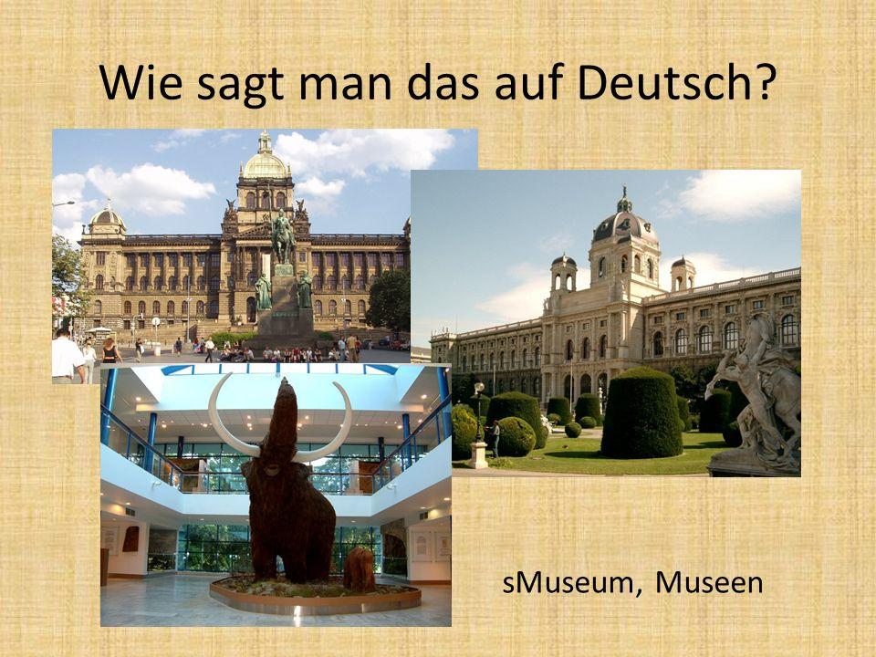 sMuseum, Museen