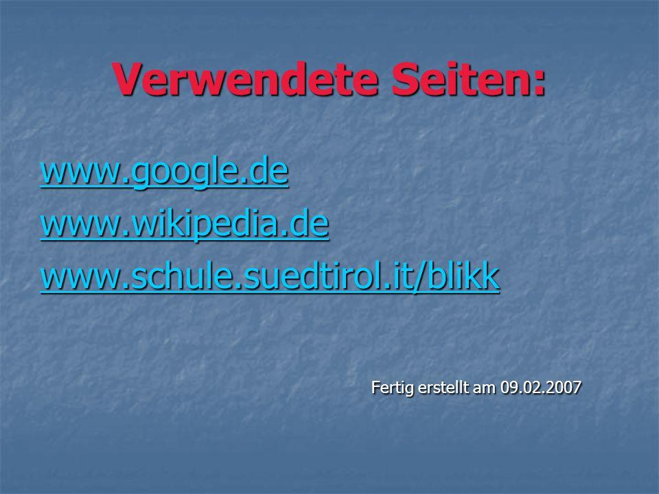 Verwendete Seiten: wwww wwww wwww.... gggg oooo oooo gggg llll eeee.... dddd eeee wwww wwww wwww.... wwww iiii kkkk iiii pppp eeee dddd iiii aaaa....