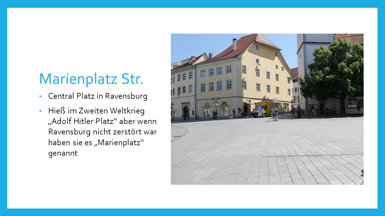 Marienplatz Str.