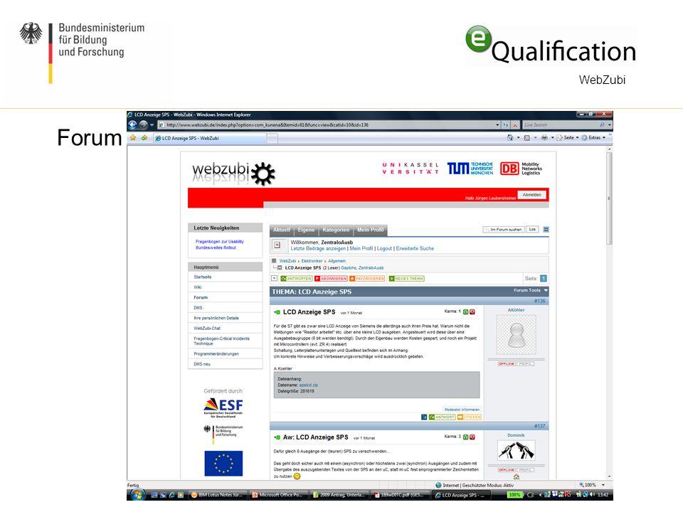 Forum WebZubi