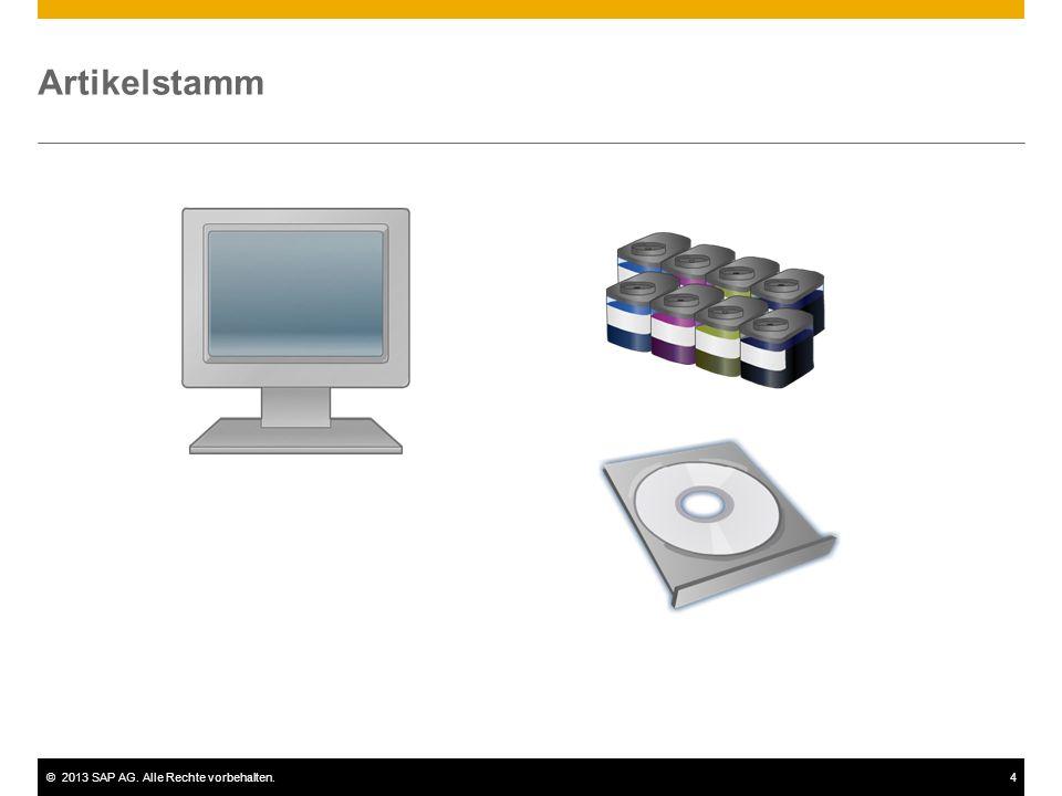 ©2013 SAP AG. Alle Rechte vorbehalten.4 Artikelstamm