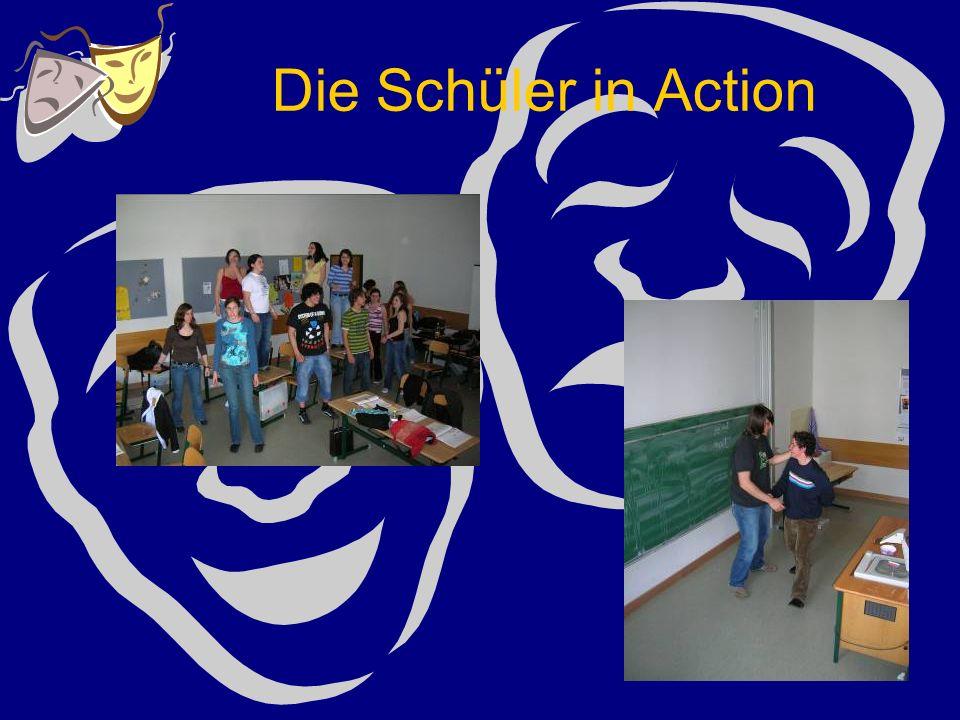 Die Schüler in Action