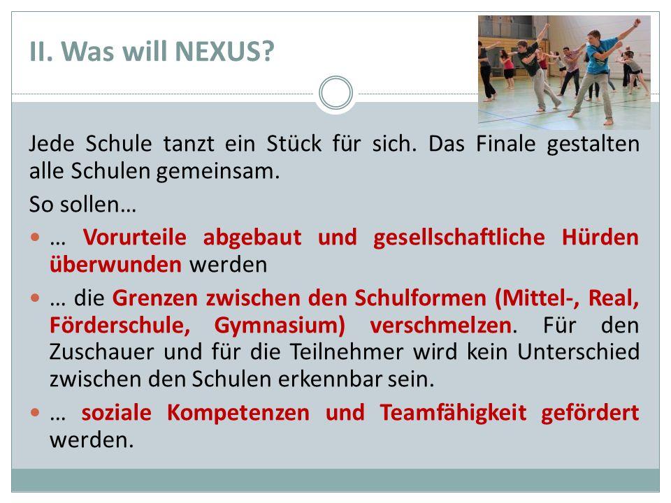 III. Wie sieht NEXUS aus?