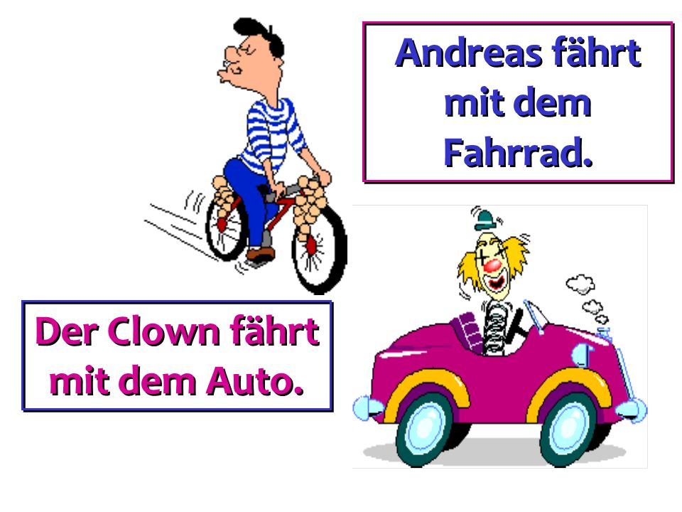 fahren mit + dative to drive (with) to go by to drive (with) to go by